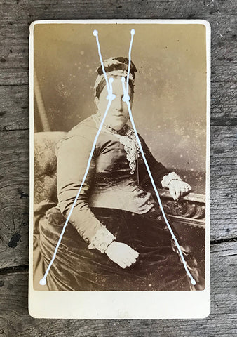 The Light Is Leaving Us All - Small Cabinet Card 22