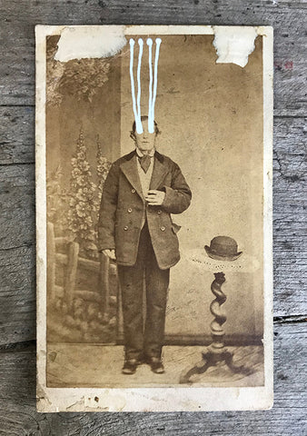 The Light Is Leaving Us All - Small Cabinet Card 23