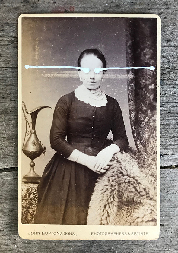 The Light Is Leaving Us All - Small Cabinet Card 24