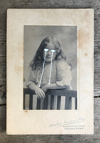 The Light Is Leaving Us All - Small Cabinet Card 26