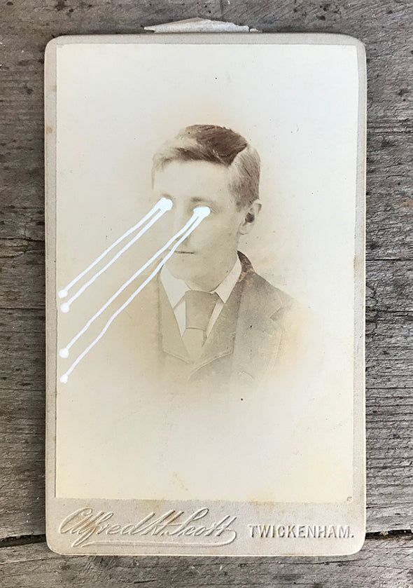 The Light Is Leaving Us All - Small Cabinet Card 29