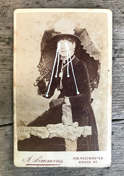 The Light Is Leaving Us All - Small Cabinet Card 2