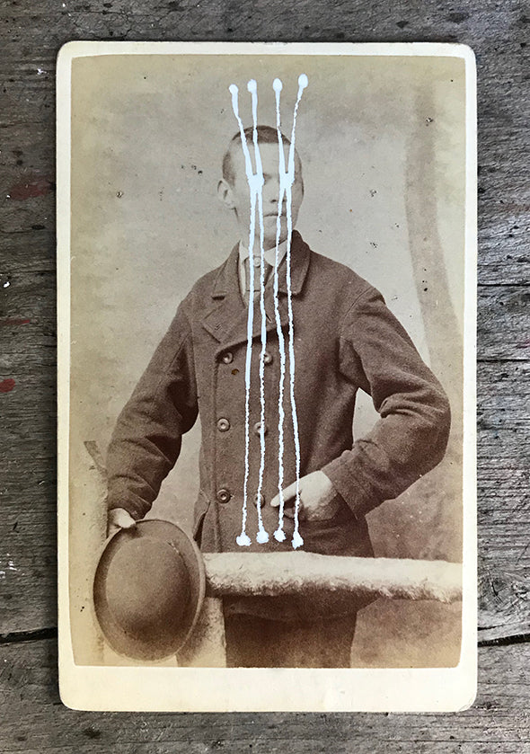 The Light Is Leaving Us All - Small Cabinet Card 30