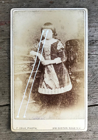 The Light Is Leaving Us All - Small Cabinet Card 32