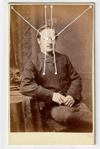 The Light Is Leaving Us All - Small Cabinet Card 45