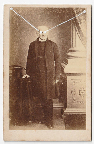 The Light Is Leaving Us All - Small Cabinet Card 46