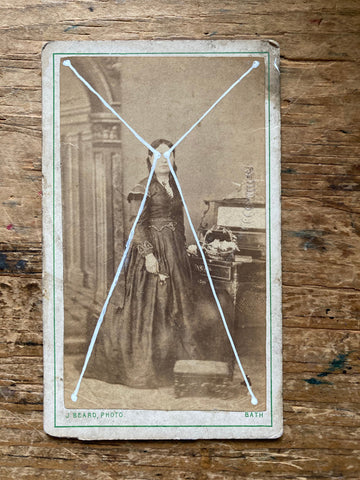 The Light Is Leaving Us All - Small Cabinet Card 56