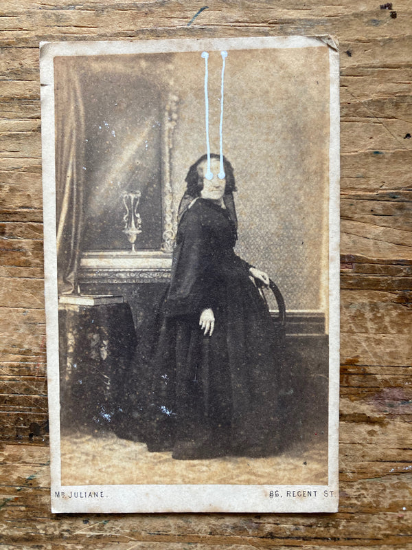 The Light Is Leaving Us All - Small Cabinet Card 59