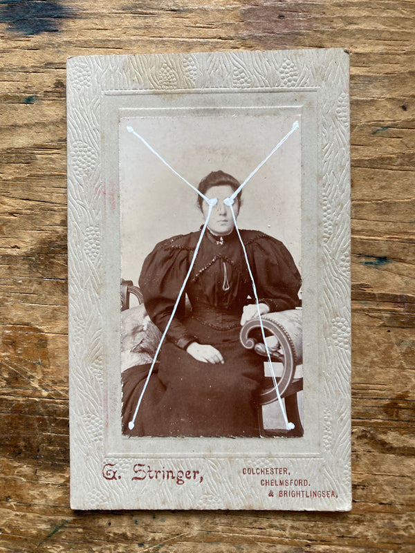 The Light Is Leaving Us All - Small Cabinet Card 60