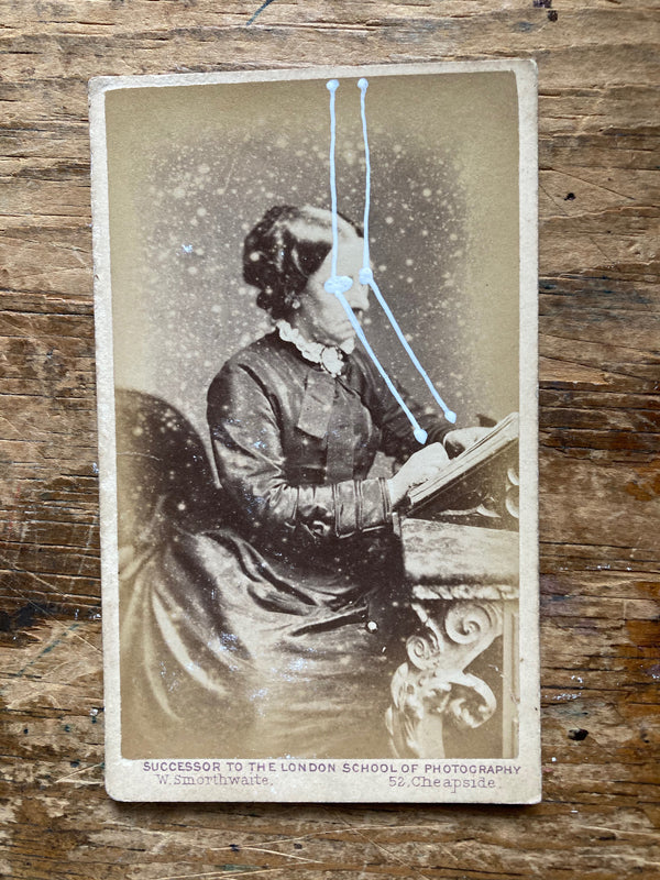 The Light Is Leaving Us All - Small Cabinet Card 67