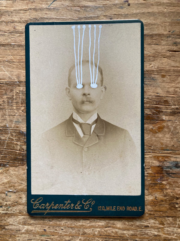 The Light Is Leaving Us All - Small Cabinet Card 68