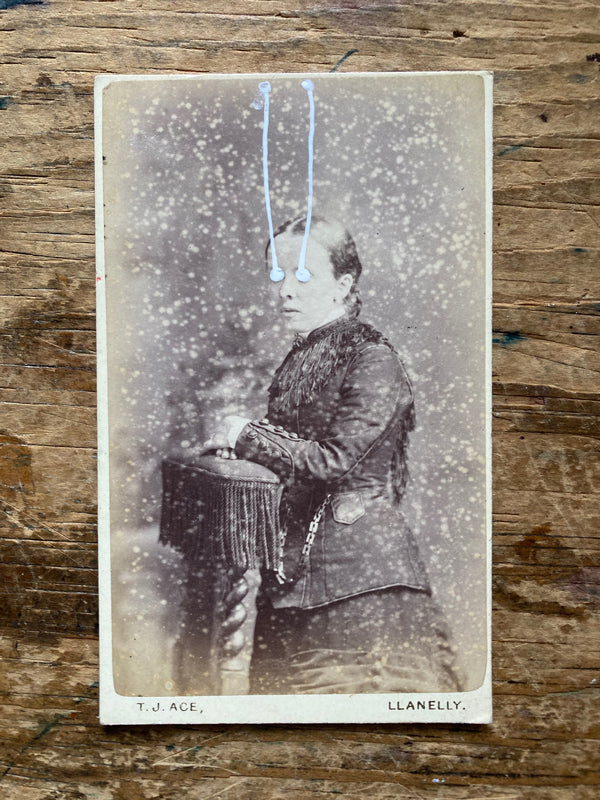 The Light Is Leaving Us All - Small Cabinet Card 74
