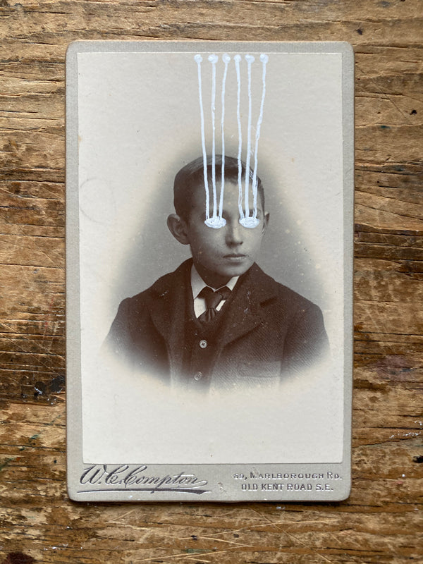 The Light Is Leaving Us All - Small Cabinet Card 85