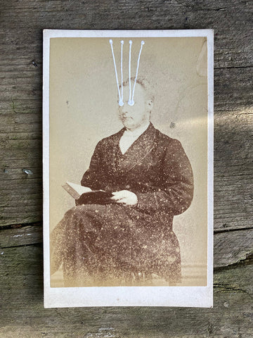 The Light Is Leaving Us All - Small Cabinet Card 90