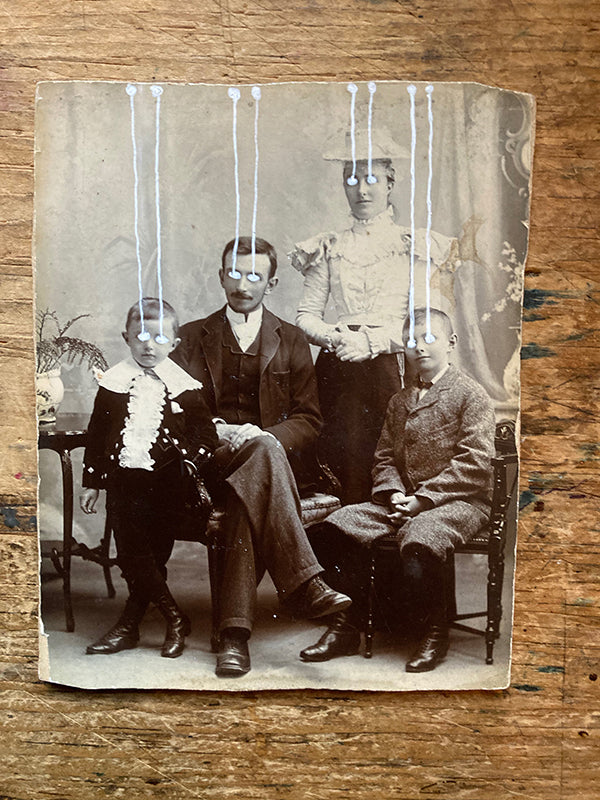 The Light Is Leaving Us All - Cabinet Card (100x130mm)