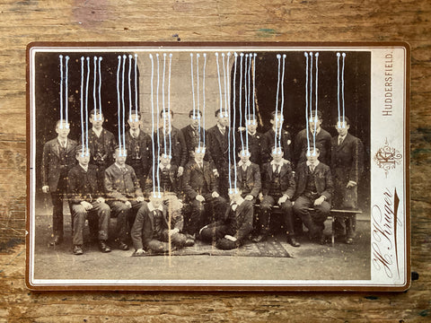 The Light Is Leaving Us All - Cabinet Card (108x167mm) 2