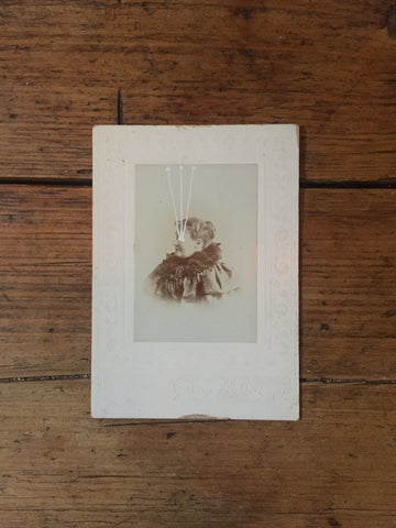 The Light Is Leaving Us All - Cabinet Card (115x160mm)