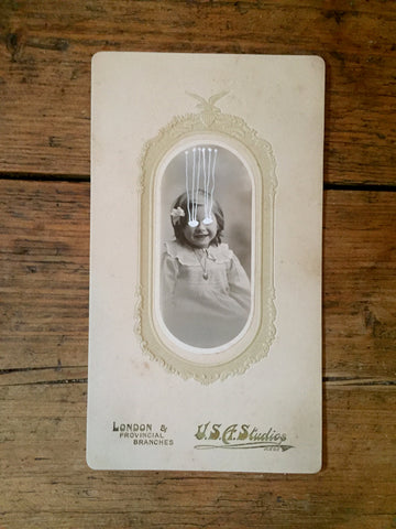 The Light Is Leaving Us All - Cabinet Card (130x230mm)