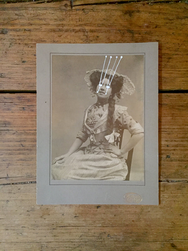 The Light Is Leaving Us All - Cabinet Card (145x195mm)