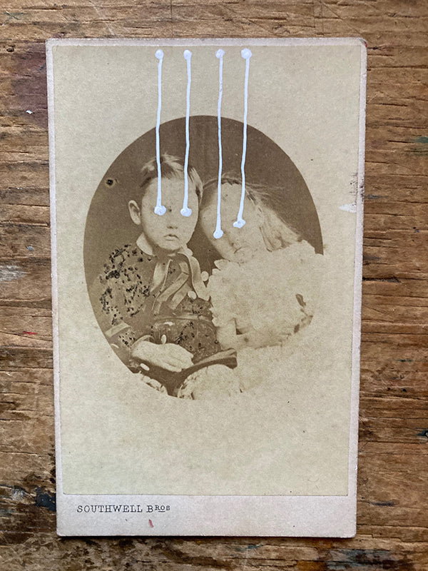 The Light Is Leaving Us All - Small Cabinet Card 48