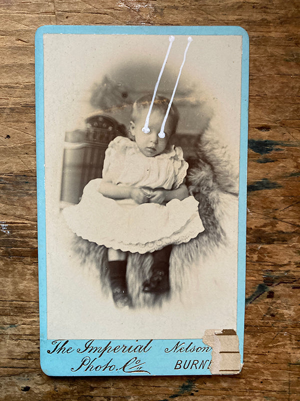 The Light Is Leaving Us All - Small Cabinet Card 50