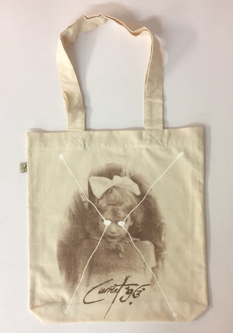 Bright Dead Star (Linen) Tote Bag