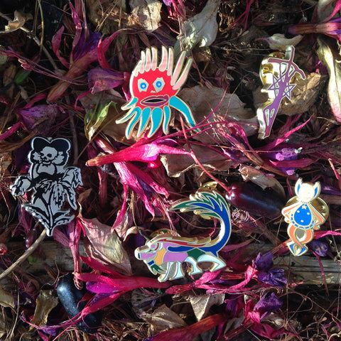 Iconic Current 93 Enamel Badge Collection