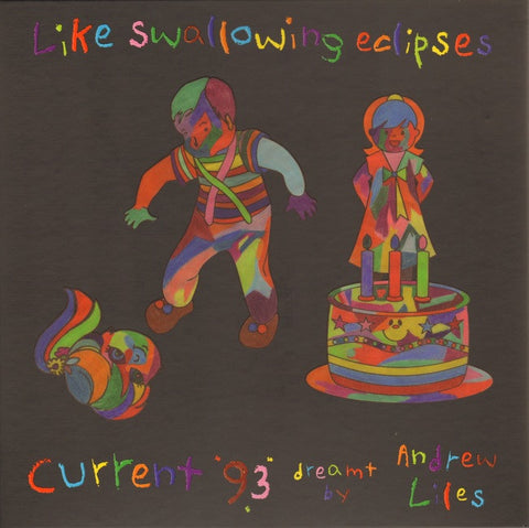 Andrew Liles - Like Swallowing Eclipses, Current 93 Dreamt: 6 LP Vinyl Box-set