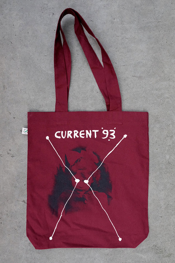 Bright Dead Star (Maroon) Tote Bag
