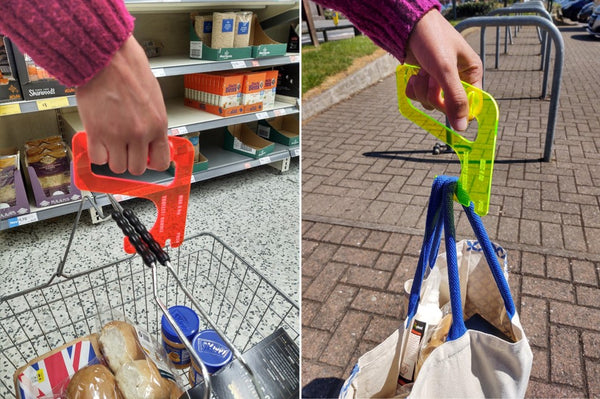 Touch free Door Opener, Button Press, Trolley Guide & Basket holder (COVID-19 limited product) science kit