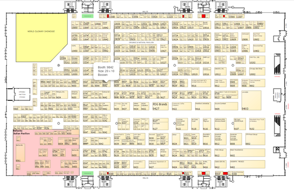 NRA Show 2017_Lakeside Center Floor Plan