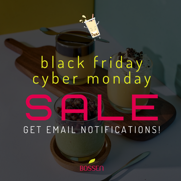 Sign up for our Black Friday/Cyber Monday deals!