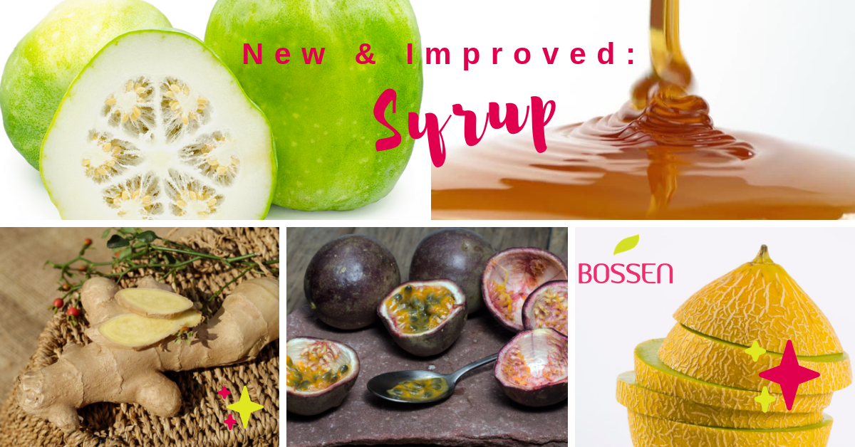 Bossen New & Improved Syrups