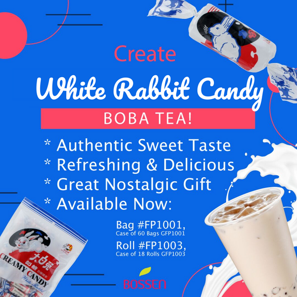 White Rabbit Candy Bubble Tea