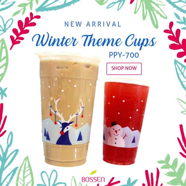 Winter Theme Cup Design
