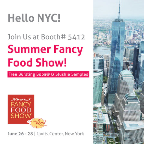 Bossen at Summer Fancy Food Show New York