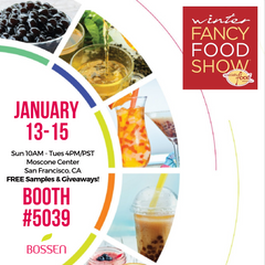 Bossen at the Winter Fancy Food Show 2019
