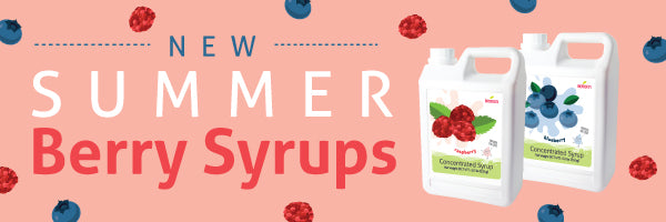 Bossen New & Improved Summer Berry Syrups!