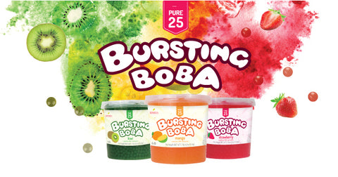 Bossen Popping Bursting Boba Pure25