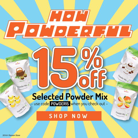 Bossen How Powderful Promotion