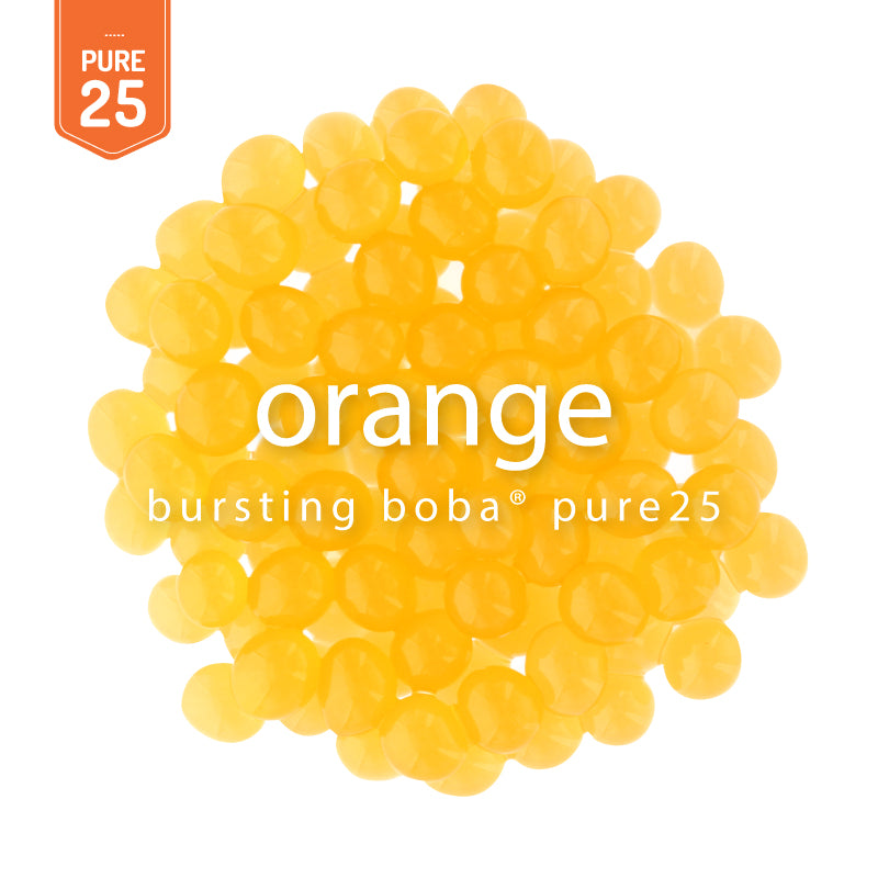Orange Bursting Boba® Pure25 | NEW