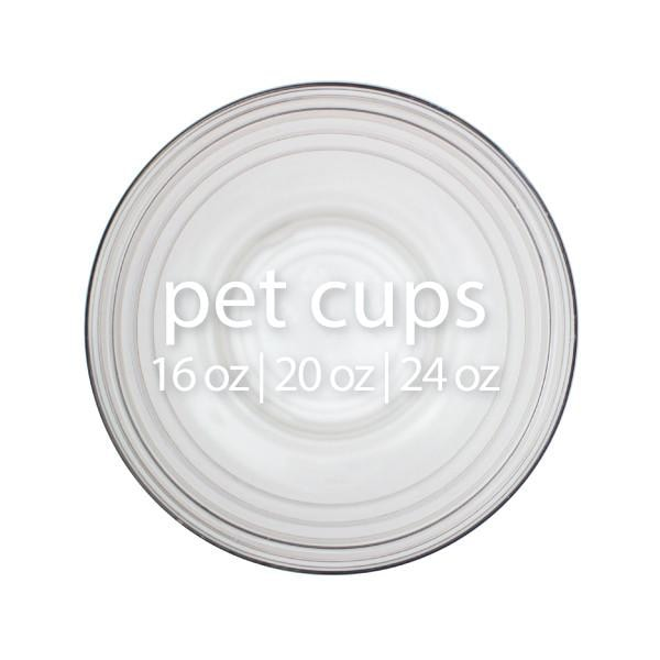 PET Plastic Cups (98mm) - BossenStore.com  - 1