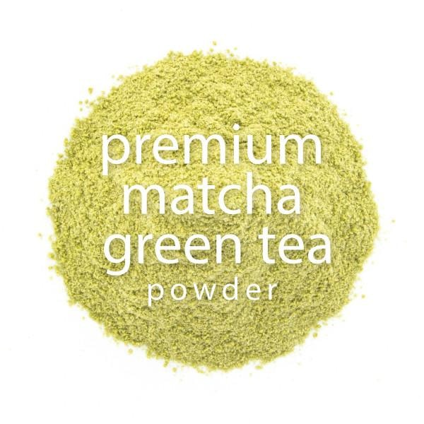 Matcha Green Tea Powder PREMIUM closeup
