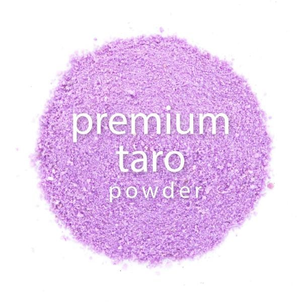 Taro Powder Premium - Great for Yogurt! closeup