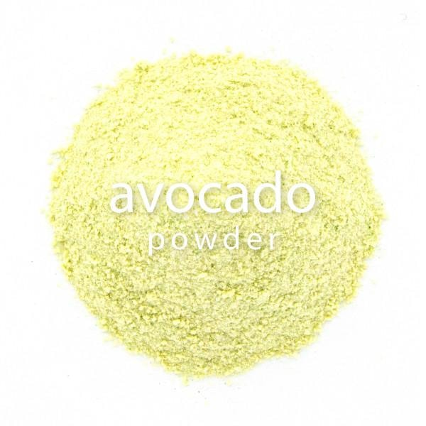 Avocado Powder Mix, closeup