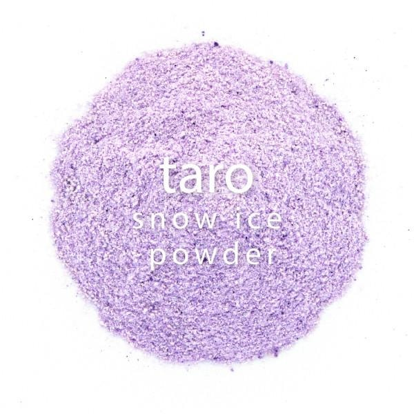 Taro Snow Ice Powder closeup