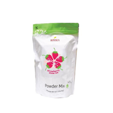 Strawberry Snow Ice Powder bag