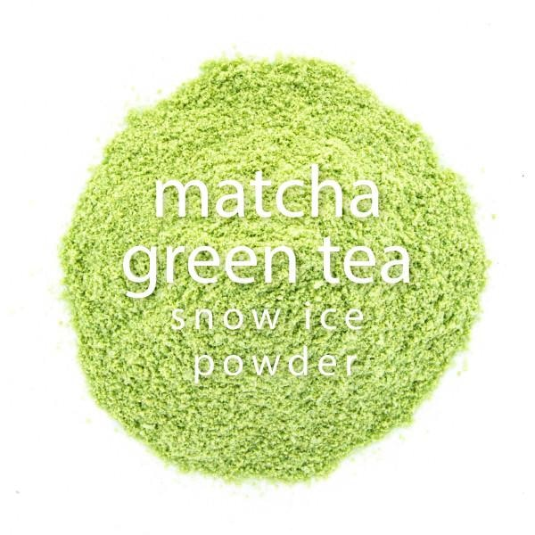 Matcha Green Tea Snow Ice Powder - BossenStore.com  - 1