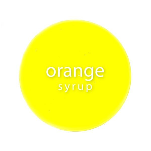 Orange Syrup - BossenStore.com