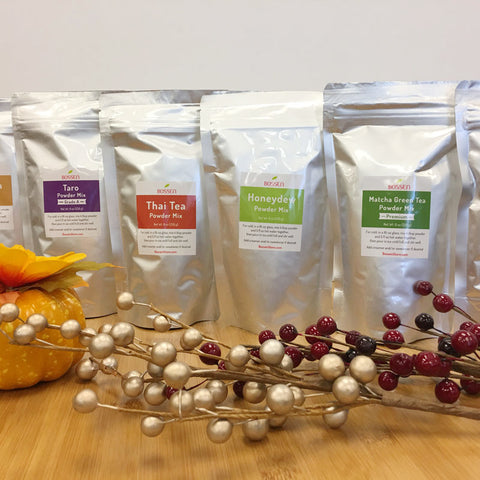 Bubble Tea Powder Sample Kit